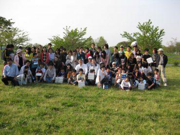 野外礼拝・バーべキュー 2009年4月19日