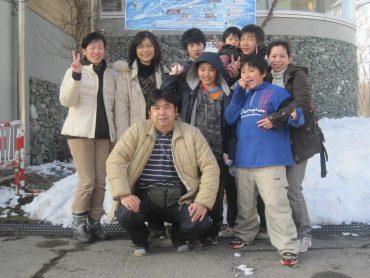 教会スキー 2010年3月22日