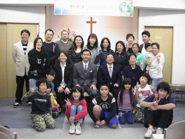 教会20周年記念礼拝 2009年10月25日