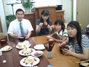 愛餐会 2009年8月16日